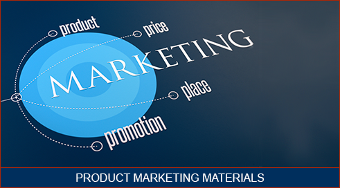 Text Box: Product Marketing Material